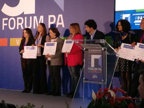 Al Forum PA premiato lo sportello mobile Inps per i pazienti del Centro Protesi Inail