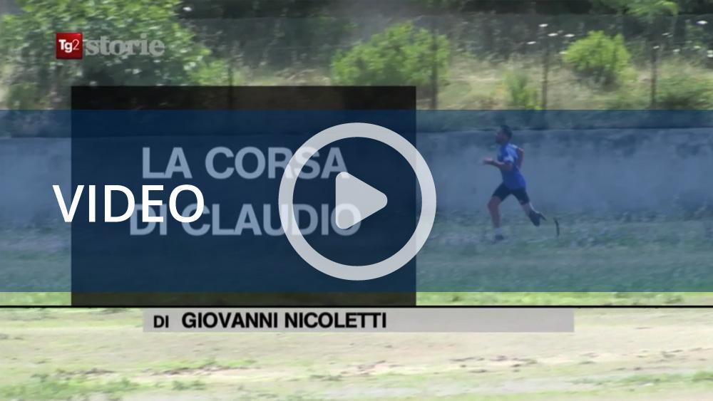 """Tg2 Storie: """"La corsa di Claudio"""""""
