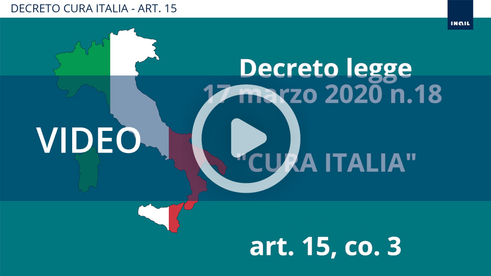 Video tutorial - Decreto Cura Italia