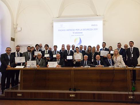 """Premio """"Imprese per la sicurezza"""", consegnati i riconoscimenti alle aziende finaliste"""