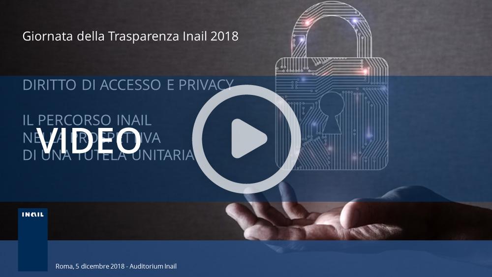 Giornata della Trasparenza Inail 2018