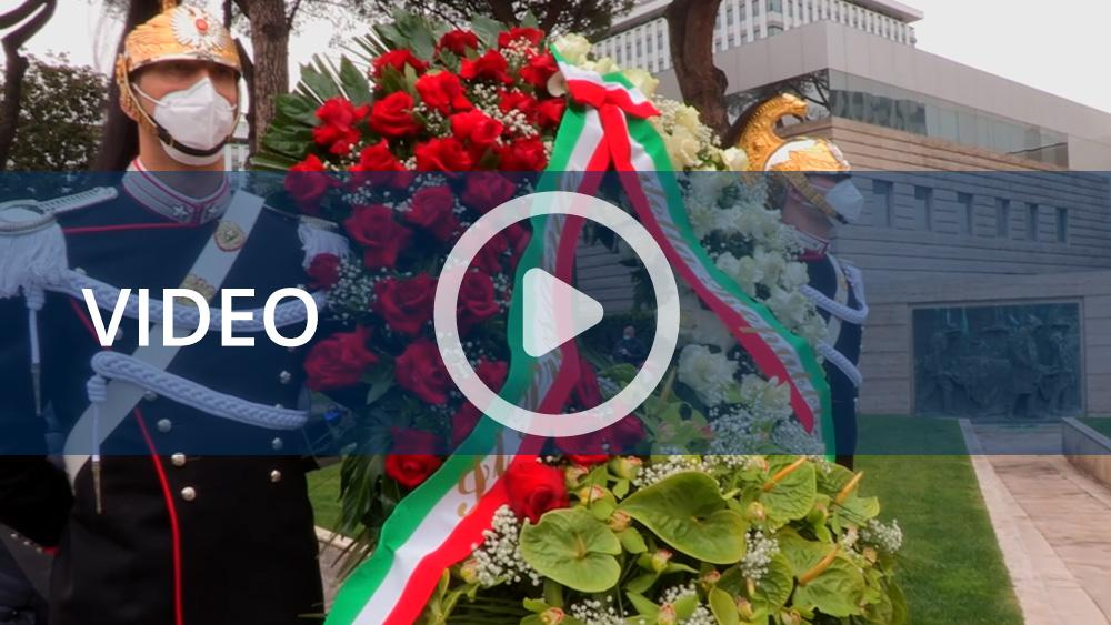 Primo maggio, all'Inail l'omaggio del Capo dello Stato alle vittime del lavoro