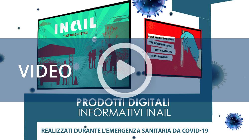 Covid-19: I prodotti informativi digitali Inail nell'anno 2020