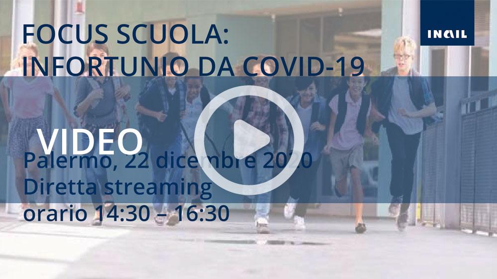 """""""Focus scuola: infortunio da Covid-19"""""""