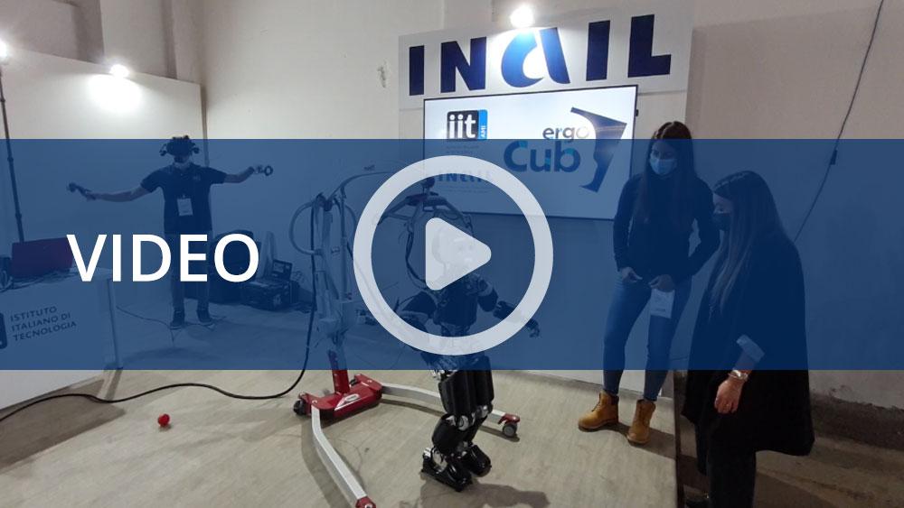 Maker Faire Rome 2021 - Allo stand Inail, l'innovazione tecnologica al servizio della sicurezza dei lavoratori