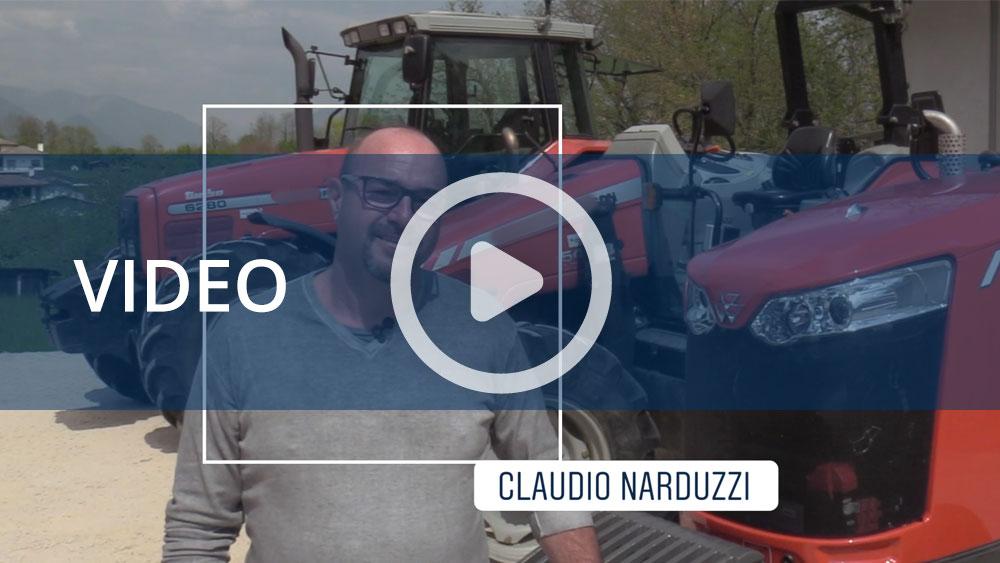 """La bella storia di Claudio, """"Di nuovo felice sul mio trattore"""""""
