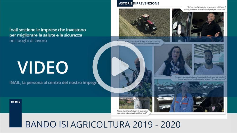 Bando Isi agricoltura 2019