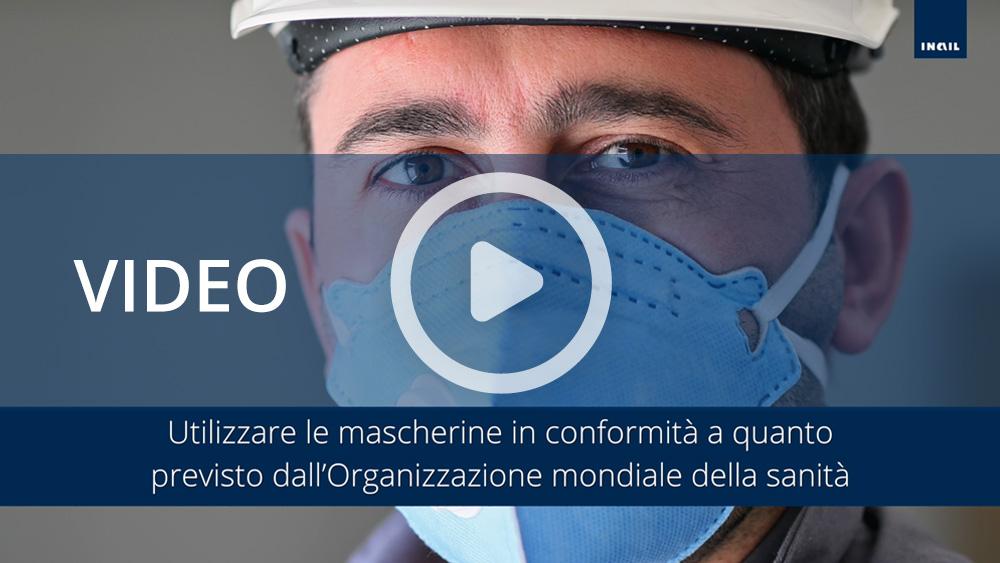 Video informativi sul protocollo per la salubrità degli ambienti di lavoro: dpi e gestione spazi comuni
