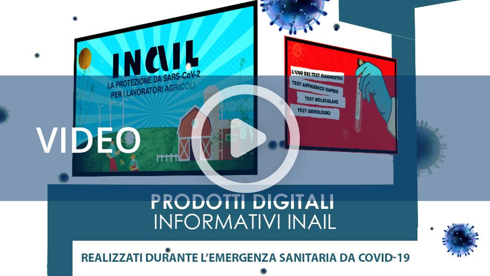 Covid-19: I prodotti informativi digitali Inail