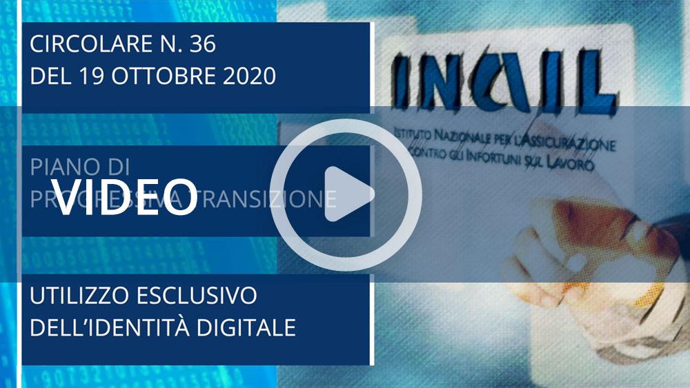 Piano di transizione per accesso ai servizi Inail con identità digitale