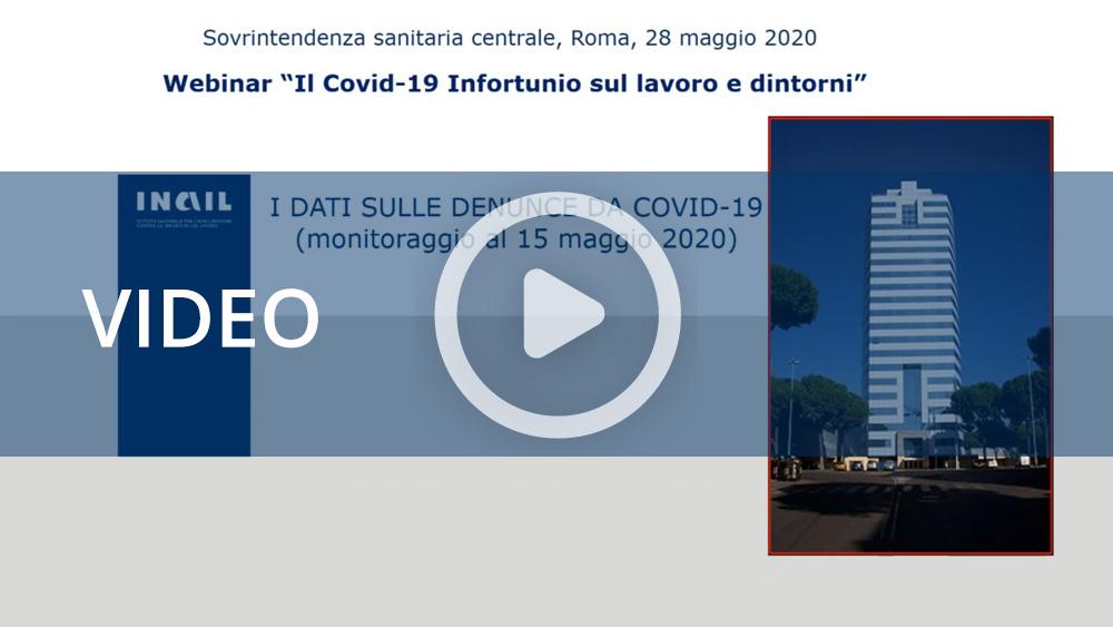 """Webinar su """"Il Covid -19 Infortunio sul lavoro e dintorni"""""""