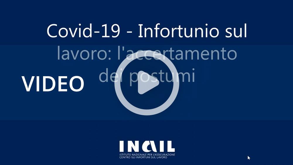 Covid-19 – Infortunio sul lavoro: l'accertamento dei postumi - Webinar