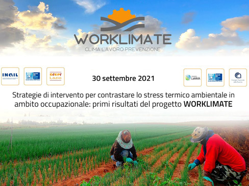 Locandina progetto Worklimate 2021