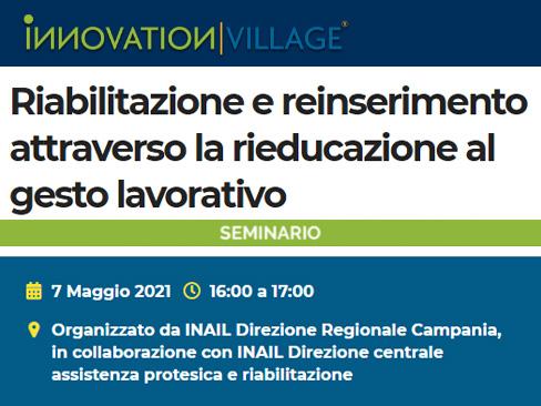 Seminario Innovation Village 7 maggio