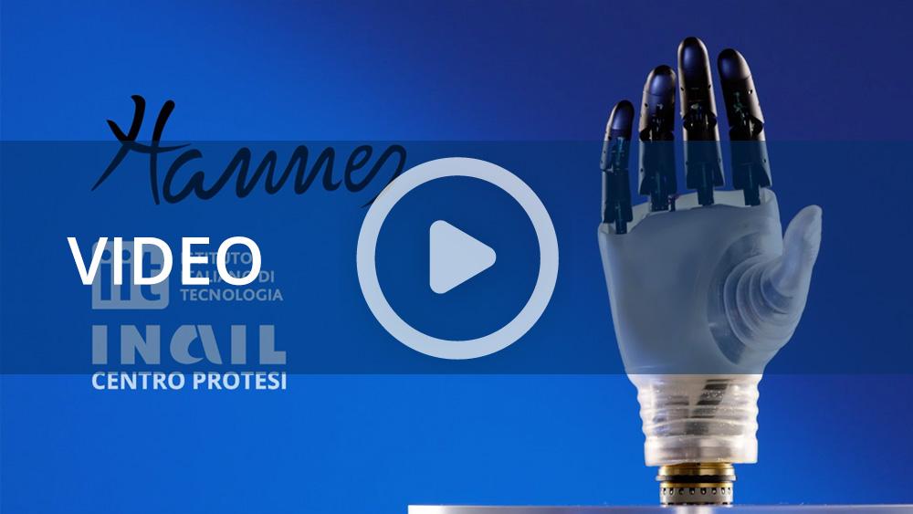 """Inail e IIT presentano """"Hannes"""", la nuova mano protesica di derivazione robotica"""