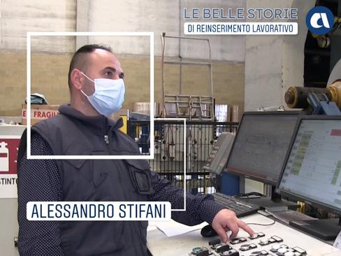 Le belle storie Inail - Alessandro Stifani
