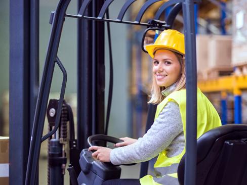 Immagine donne al lavoro
