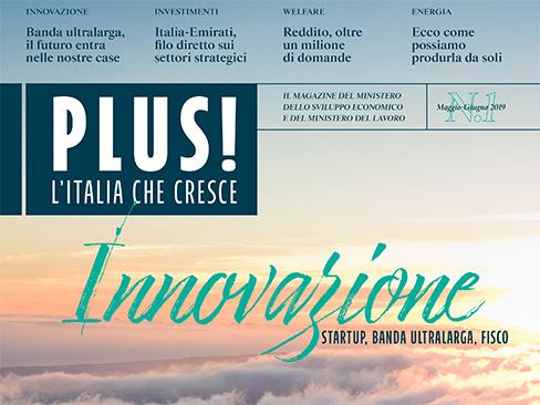"""""""Plus!"""", nel nuovo magazine digitale del Mise e del Ministero del Lavoro due articoli sugli incentivi Inail"""