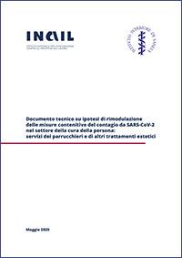 Immagine Documento tecnico su ipotesi di rimodulazione delle misure contenitive del contagio da SARS-CoV-2 nel settore della cura della persona: servizi dei parrucchieri e di altri trattamenti estetici
