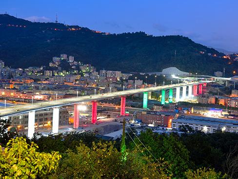 Inaugurazione del ponte Genova San Giorgio