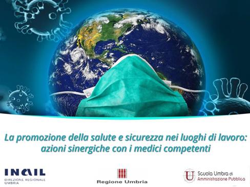Webinar Umbria su gestione emergenza covid e ruolo del medico competente
