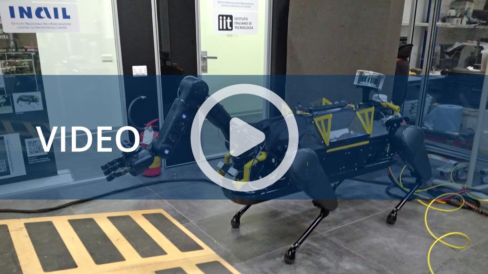 Il video con i risultati raggiunti dal robot teleoperativo di Inail e IIT
