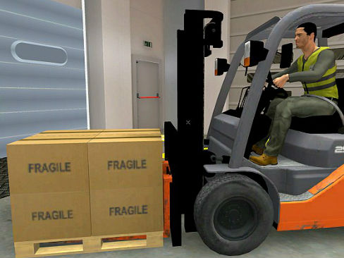 La sicurezza in 3D nella logistica