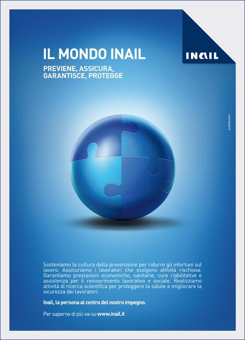 Immagine Il Mondo Inail: la nuova campagna di comunicazione sulla mission istituzionale