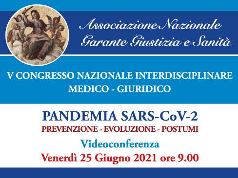 V Congresso interdisciplinare medico-giuridico sulla pandemia