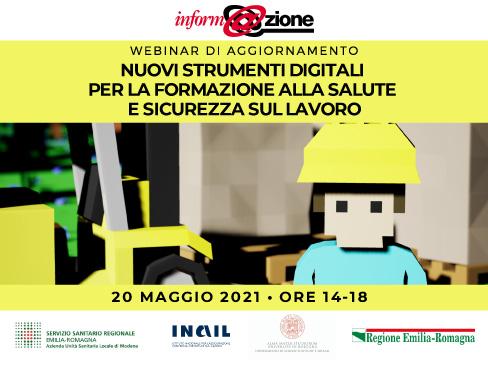 Nuovi strumenti digitali per la formazione alla salute e sicurezza sul lavoro